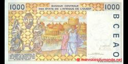 Burkina - Faso - p311Ci - 1 000 Francs - 1998 - Banque Centrale des États de l'Afrique de l'Ouest