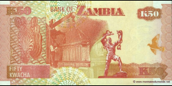 Zambie - p37f - 50 Kwacha - 2007 - Bank of Zambia