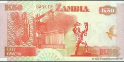 Zambie - p37h - 50 Kwacha - 2009 - Bank of Zambia