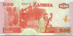 Zambie - p37g - 50 Kwacha - 2008 - Bank of Zambia