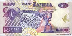 Zambie - p38e - 100 Kwacha - 2005 - Bank of Zambia