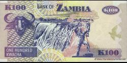Zambie - p38f - 100 Kwacha - 2006 - Bank of Zambia