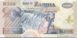 Zambie - p38h - 100 Kwacha - 2009 - Bank of Zambia