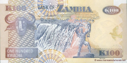 Zambie - p38i - 100 Kwacha - 2010 - Bank of Zambia