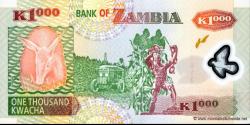 Zambie - p44d - 1.000 Kwacha - 2005 - Bank of Zambia