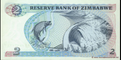Zimbabwe - p01b - 2 Dollars - 1983 - Reserve Bank of Zimbabwe