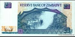 Zimbabwe - p07 - 20 Dollars - 1997 - Reserve Bank of Zimbabwe
