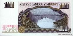 Zimbabwe - p09 - 100 Dollars - 1995 - Reserve Bank of Zimbabwe