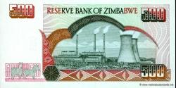 Zimbabwe - p10 - 500 Dollars - 2001 - Reserve Bank of Zimbabwe