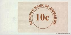 Zimbabwe - p35 - 10 Cents - 01.08.2006 - Reserve Bank of Zimbabwe
