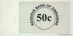 Zimbabwe - p36 - 50 Cents - 01.08.2006 - Reserve Bank of Zimbabwe