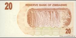 Zimbabwe - p40 - 20 Dollars - 01.08.2006 - Reserve Bank of Zimbabwe