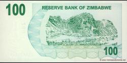 Zimbabwe - p42 - 100 Dollars - 01.08.2006 - Reserve Bank of Zimbabwe