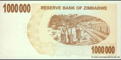 Zimbabwe - p53 - 1.000.000 Dollars - 01.02.2018 - Reserve Bank of Zimbabwe