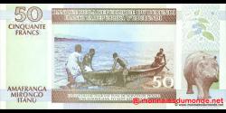 Burundi - p36b - 50 Francs - 05.02.1999 - Banque de la République du Burundi / Ibanki ya Republika y'Uburundi
