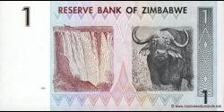 Zimbabwe - p65 - 1 Dollar - 2007 - Reserve Bank of Zimbabwe