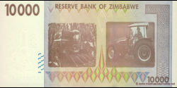 Zimbabwe - p72 - 10.000 Dollars - 2007 - Reserve Bank of Zimbabwe