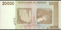 Zimbabwe - p73a - 20.000 Dollars - 2008 - Reserve Bank of Zimbabwe