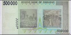 Zimbabwe - p76a - 500.000 Dollars - 2008 - Reserve Bank of Zimbabwe