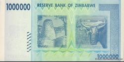 Zimbabwe - p77 - 1.000.000 Dollars - 2008 - Reserve Bank of Zimbabwe