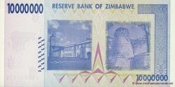 Zimbabwe - p78 - 10.000.000 Dollars - 2008 - Reserve Bank of Zimbabwe