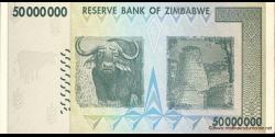 Zimbabwe - p79 - 50.000.000 Dollars - 2008 - Reserve Bank of Zimbabwe