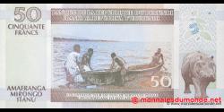 Burundi - p36f - 50 Francs - 01.05.2006 - Banque de la République du Burundi / Ibanki ya Republika y'Uburundi