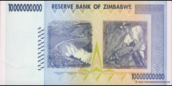 Zimbabwe - p85 - 10.000.000.000 Dollars - 2008 - Reserve Bank of Zimbabwe