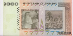 Zimbabwe - p86 - 20.000.000.000 Dollars - 2008 - Reserve Bank of Zimbabwe