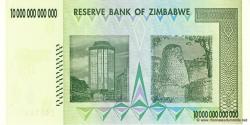 Zimbabwe - p88 - 10.000.000.000.000 Dollars - 2008 - Reserve Bank of Zimbabwe