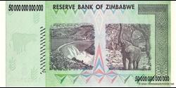 Zimbabwe - p90 - 50.000.000.000.000 Dollars - 2008 - Reserve Bank of Zimbabwe