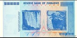 Zimbabwe - p91 - 100.000.000.000.000 Dollars - 2008 - Reserve Bank of Zimbabwe