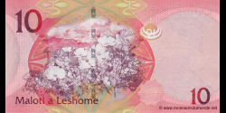 Lesotho - p21 - 10 Maloti - 2010 - Central Bank of Lesotho