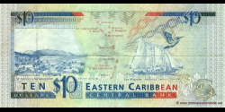 Antigua - p27a - 10 Dollars - ND (1993) - Eastern Caribbean Central Bank