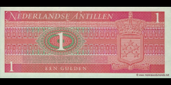 antilles néerlandaises - p20 - 1 Gulden - 08.09.1970 - Government