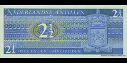 antilles néerlandaises - p21 - 2½ Gulden - 08.09.1970 - Government