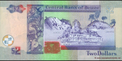 Belize - p60b - 2 Dollars - 01.01.2002 - Central Bank of Belize