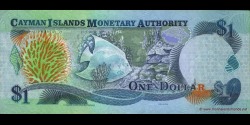 Caïmans - p30 - 1 Dollar - 2003 - Cayman Islands Monetary Authority