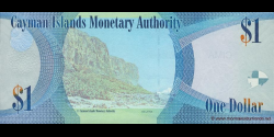 Caïmans - p38a - 1 Dollar - 2010 - Cayman Islands Monetary Authority