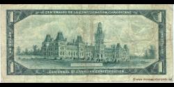 Canada - p084a - 1 Dollar - 1967 - Bank of Canada / Banque du Canada