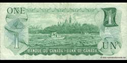 Canada - p085a - 1 Dollar - 1973 - Bank of Canada / Banque du Canada