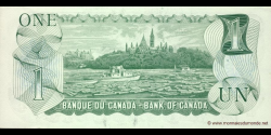 Canada - p085c - 1 Dollar - 1973 - Bank of Canada / Banque du Canada