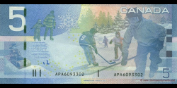 Canada - p101Aa - 5 Dollars - 2006 - Bank of Canada / Banque du Canada