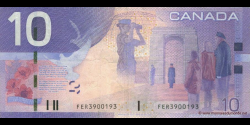 Canada - p102Aa - 10 Dollars - 2005 - Bank of Canada / Banque du Canada