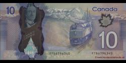 Canada - p107 - 10 Dollars - 2013 - Bank of Canada / Banque du Canada