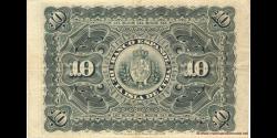 Cuba - p049c - 10 Pesos - 15.05.1896 - Banco Español de la Isla de Cuba