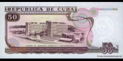 Cuba - p111 - 50 Pesos - 1991 - Banco Nacional de Cuba