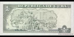 Cuba - p128d - 1 Peso - 2009 - Banco Central de Cuba