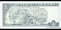 Cuba - p128c - 1 Peso - 2008 - Banco Central de Cuba