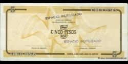 Cuba - pFX34 - 5 Pesos - ND - Banco Nacional de Cuba